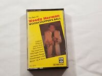 The Best of Woody Herman Woodchopper's Ball Cassette 1988  EMI 4XLL9770