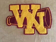 Vintage Varsity Letter 1970s WN cheerleading microphone w n High School college