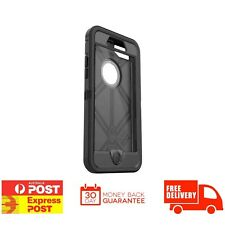 GENUINE OtterBox Defender Case suits iPhone 7 Plus Black w/ Belt Clip BRAND NEW
