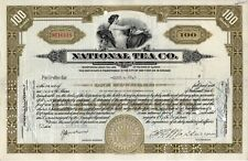 New listing National Tea Co. Stock Certificate 1935