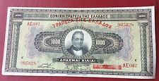 Billet Grèce ,1000 , 1926