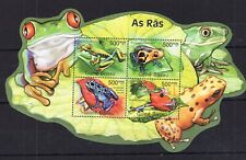 Guinea Bissau 2008  - Frogs  - Nature on postage - stamps MNH* AM1