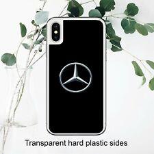 Ventilador de logotipo Mercedes Coche Funda Negro fresco amor iPhone Samsung Huawei Google