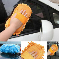Microfaser Chenille Auto Fahrzeugpflege Waschbürste Schwamm Reinigung Reinigung