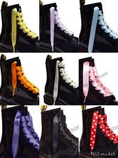 Shoelaces Bootlaces fits 3 6 8 10 pairs eyelet Ankle Boots with our LOGO Aglets