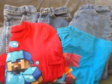 Boys Jeans Minecraft Lot 2 Shirts 3 Jeans Long Sleeve Short Sleeve
