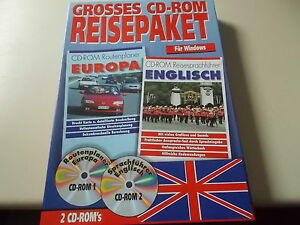 Large Travel Package On CD - ROM, Routes & Phrasebook Europe, #SO-48
