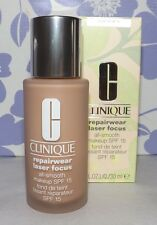 Clinique REPAIRWEAR Laser Focus FOUNDATION Makeup ~ SHADE: 12 (D-G) ~ NEW IN BOX