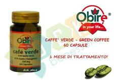 CAFFE' VERDE GREEN COFFEE 60 CAPSULE COMPRESSE INTEGRATORE DIMAGRANTE DIETA PERD