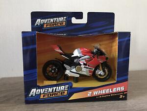BRAND NEW DUCATI PANIGALE V4 S CORSE MOTORCYCLE MAISTO 1:18 REPLICA BIKE MODEL
