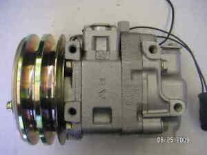 AC Compressor OEM Panasonic fits Subaru Brat, DL, GL QR