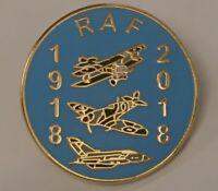 NEW royal air force 100 years lapel badge RAF Aerial warfare spitfire heroes