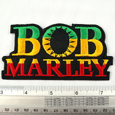 """Bob Marley embroidered iron on patches appliques 2.25x4.5"""""""
