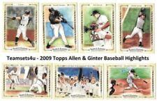 Cromos de béisbol de coleccionismo Allen & Ginter