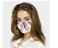 Fashion Coral print face mask Reusable & Washable Comfortable Antibacterial UK