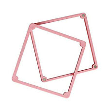 Stencil Holder for Cookies or Cupcakes - Pink - 12cm wide