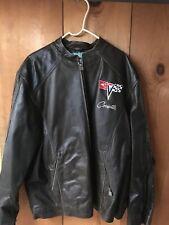 1968-1982 Corvette C3 GS Racer Heavyweight Regular Length Leather Jacket 2X