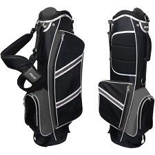 Nitro Lightweight Pro Stand Golf Bag For Clubs W/ Rain Hood 5 Way Divider NEW