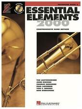 Essential Elements 2000 Trombone Book 2 with play-along Cd
