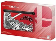 Nintendo 3ds XL Super Smash Bros Limited Edition Handheld Console Red