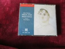JANE AUSTIN - PRIDE AND PREJUDICE - 3 CD AUDIOM BOOK SET