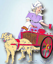 1940s Vintage Betty Burton Embroidery Hot Iron Transfer Dutch Dow Towels Uncut