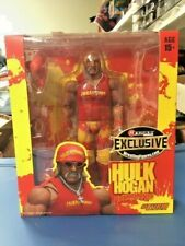 HULK HOGAN WWE Storm Collectibles Wrestling Figure MOC Exclusive Hulkamania Red