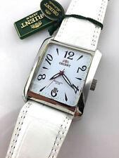 Orient Orologio Uomo In Pelle Bianco Movimento Automatico 21 Jewels WLERAG003W0