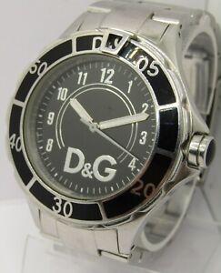 D&G Anchor Watch DW0581 Gents Stainless Steel Quartz Watch WR50M Submariner 2010