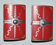 27260 Escudo rectangular legionario rojo 2u playmobil,shield,scudo,romano