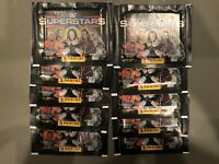 10 - 1997 PANINI WWF SEALED STICKER PACKS - 50 STICKERS TOTAL THE ROCK RC AUSTIN