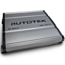 Autotek SS1800.1D 1800W Monoblock 1-Ohm Stable Super Sport Class-D Car Amplifier