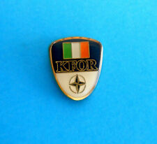 IRELAND ARMY in Kosovo War - NATO Peacekeeping Mission Kosovo Force ( KFOR ) pin