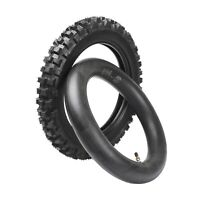 Front 70//100-17 /& Rear 90//100-14 Tire /& Tube for CRF125F CRF150R CR85R KLX140L
