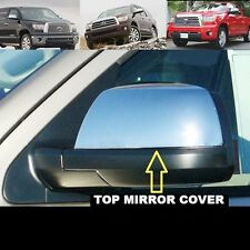 07-17 Toyota Tundra Triple Chrome plated HALF Mirror Cover Double Cab CrewMax 13
