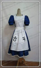 Alice Madness Returns Cosplay Costume Maid Uniform Party Fancy Dress Halloween