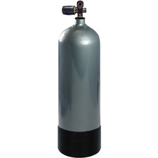 Faber Stealth High Pressure Steel Tank 100 Cubic Feet, 12.9 Liters