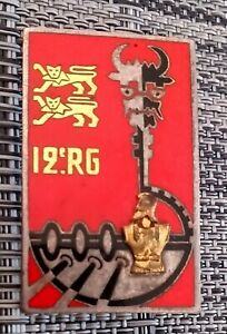 Insigne 12e RG GENIE