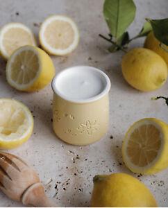 1 Pot de yaourt LA FERMIERE édition printemps 2020 JAUNE (marguerites)