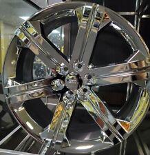 24 Inch Chrome Replica G13 Silverado Sierra Gmc Chevy Ltz Wheels Rims 22 26
