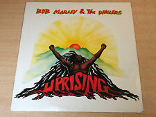 Bob Marley & The Wailers/Uprising/1980 Island LP & Insert/Japanese