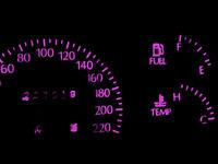 Pink LED Dash Instrument Cluster Light Kit for HOLDEN COMMODORE VT VX