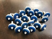 """Tap Washer Pack 1/2"""" Long Life Duro Blue 4x Pack Jumper Valve Replacement H & C"""