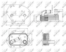 NRF Oil Cooler - 31313  Next working day to UK