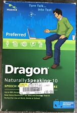 Dragon Naturally Speaking 10 Nuance Preferred Software And Headset