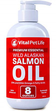 Salmon Oil for Dogs Cats and Horses Fish Oil Omega 3 Food Supplement for Pets