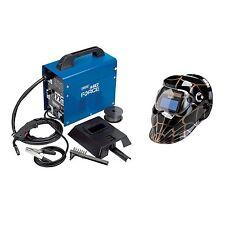 Draper Tools 90A gas Turbo Mig Soldadora Soldadura/Máscara de molienda/& Casco/microbios