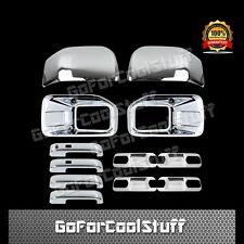 15-16 FORD F150 Fog Light 2 Mirrors 4 Door Handles + 4 Door Bowls Chrome Cover
