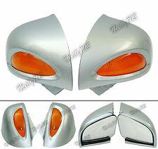 Argento-grigio Specchietti retrovisori lente freccia per BMW R1100RT R1150RT RTP