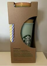 Starbucks Pack of 5 Colour Changing Cold Cups 🌟FREE UK POSTAGE